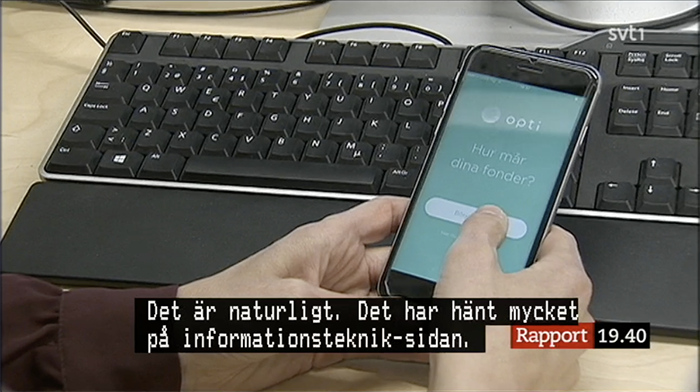 Opti i SVT Rapport, bra fonder